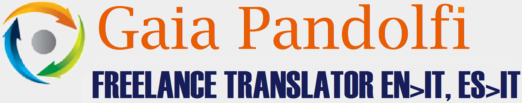 Gaia Pandolfi         Freelance Translator EN>IT, ES>IT